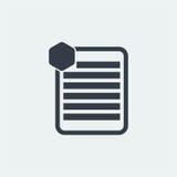 notez la conception plate, conception de note de marque, conception de livre, conception de papier, Photo libre de droits