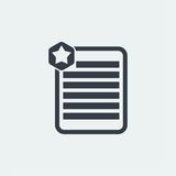 notez la conception plate, conception de note de marque, conception de livre, conception de papier, Photos libres de droits