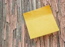 Notez le bois grunge Image libre de droits