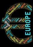 Notfall des Europas stock abbildung