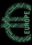 Notfall des Europas lizenzfreie abbildung
