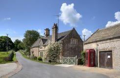 Notgrove by, Gloucestershire Royaltyfri Fotografi