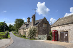 Notgrove village, Gloucestershire. The pretty little Cotswold village of Notgrove, Gloucestershire, England Royalty Free Stock Photography