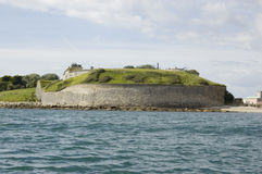 Nothe Fort, Weymouth Lizenzfreies Stockfoto