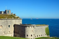 Nothe Fort, Weymouth. Stock Photography