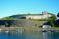 Nothe Fort, Weymouth. Royalty Free Stock Image