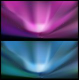 Nothern blue aurora backgrounds. Stock Photography