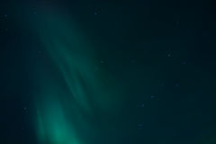Nothern lights - Aurora Borealis Stock Photo