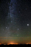 Nothern part of Milky Way Royalty Free Stock Photo