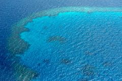 Nothing at all in the turquoise maldivian sea stock images