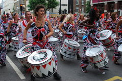 Nothing Hill Carnival Royalty Free Stock Images