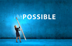 Nothing is impossible Stock Photo