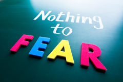 Free Nothing To Fear Royalty Free Stock Photos - 29721138