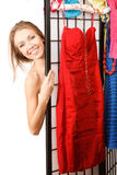 Nothing to wear! Royalty Free Stock Photos