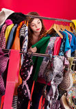 Nothing to wear concept Stock Photo