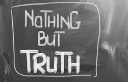 Nothing But Truth Concept Stock Photo