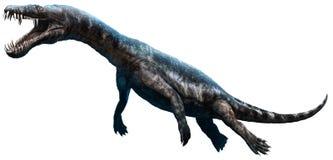 Nothosaurus 3D illustration Royaltyfri Foto