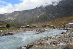 Nothrengebieden van Pakistan Stock Foto