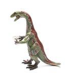 Nothronychus toy on white background Stock Image