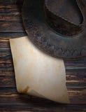 Noti il cowboy Fotografia Stock Libera da Diritti