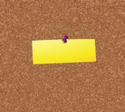 Notice board. Empty notice board concept for your text Royalty Free Stock Photo