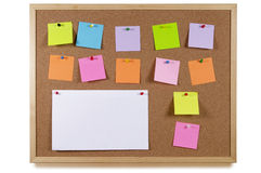 Notice Board Royalty Free Stock Photo
