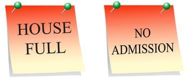 Notice board. Vector of two notice board Stock Image