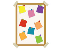Notice board Royalty Free Stock Image