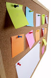 Notice board background Royalty Free Stock Photography