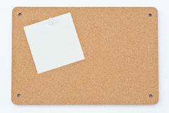 Notice Board With Post Notes Stock Image