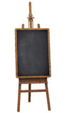 Notice board on a wooden easel Stock Photos