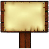 Notice board Stock Image