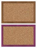 Noticeboard пробочки съемка бюллетеня доски близкая вверх Стоковые Фото