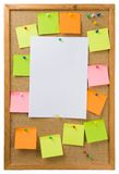 Noticeboard Stock Image