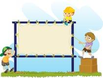 Noticeboard royalty-vrije illustratie