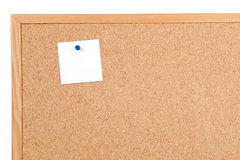 Noticeboard of cork Stock Images
