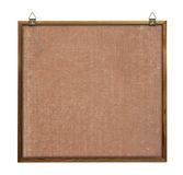 Noticeboard with hangers Royalty Free Stock Photos