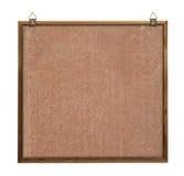 Noticeboard met hangers royalty-vrije stock foto's