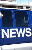 Noticias Foto de archivo libre de regalías