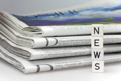 Noticias Foto de archivo