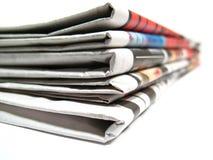Noticias Imágenes de archivo libres de regalías