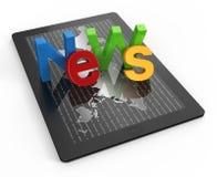 Noticias de asunto Imágenes de archivo libres de regalías