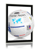 Noticias de Digitaces Fotos de archivo