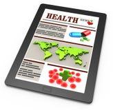 Noticias de la farmacia ilustración del vector