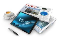 Noticias de la mañana Imagen de archivo