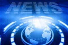 Noticias de la palabra stock de ilustración