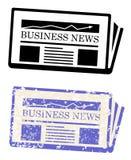 Noticias de negocio Fotos de archivo