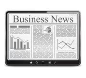 Noticias de negocio Fotos de archivo libres de regalías
