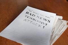 Noticias del Año Nuevo Fotos de archivo