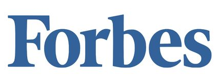 Noticias del logotipo de Forbes ilustración del vector
